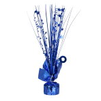 Bright Royal Blue Spray Centrepiece Balloon Weights 30cm - 6 PC