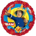 Fireman Sam Standard Foil Balloons S60 - 5 PC