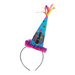 Happy Birthday Headband Cone Hats - 6 PC