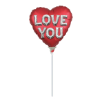 Love You Letters Satin Luxe Mini Balloons A15 - 5 PC