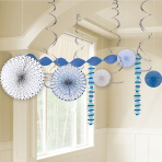 Blue First Holy Communion Room Decoration Kits - 6 PKG/14