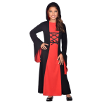 Gothic Girl Costume - Age 12-14 Years - 1 PC