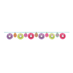 Easter Fan Banner Paper Garlands 3.65m - 9 PC