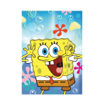 SpongeBob Plastic Party Bags - 10 PKG/6