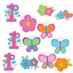 Sweet Birthday Girl Cutouts Pack - 12 PKG/12