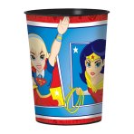 DC Super Hero Girls Plastic Favour Cups 473ml - 12 PC