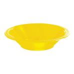 Sunshine Yellow Plastic Bowls 355ml - 10 PKG/10