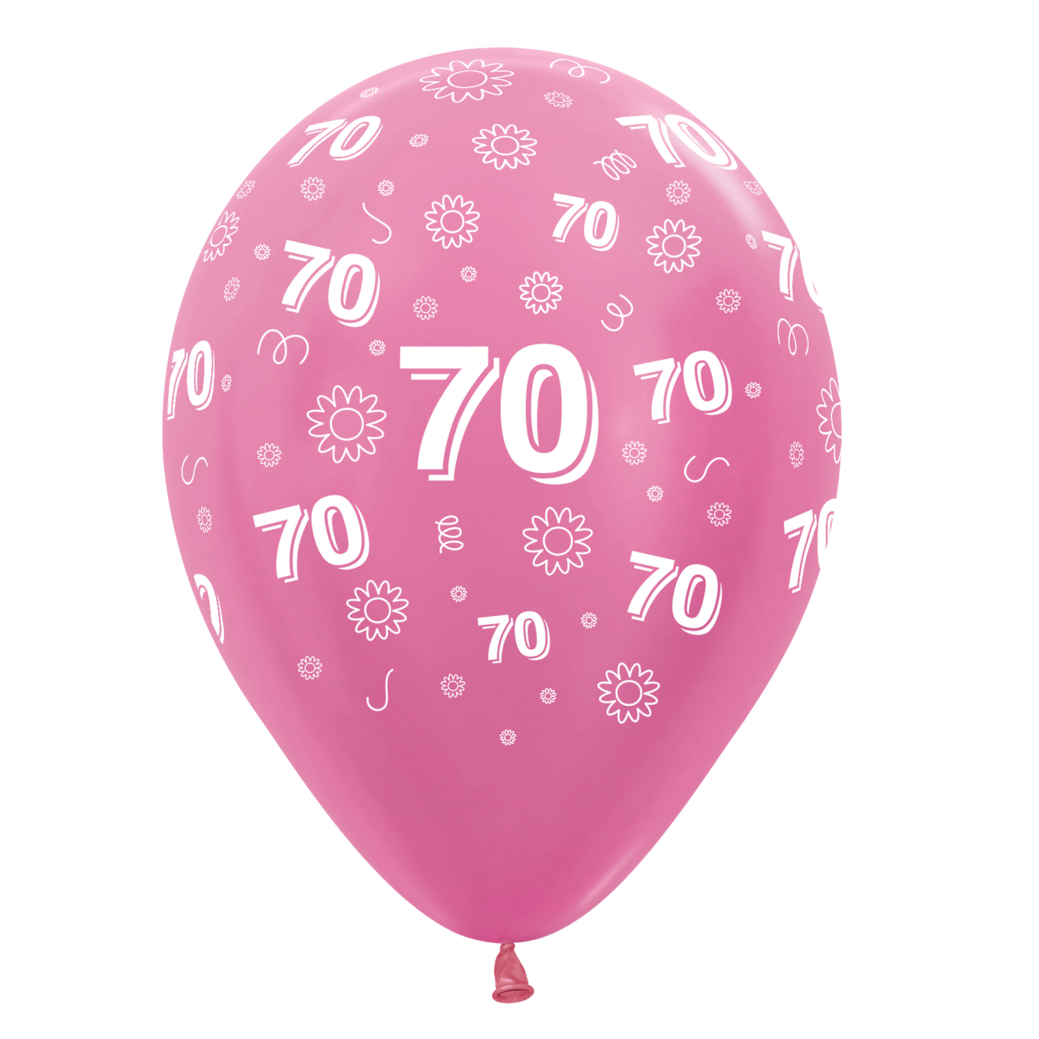 70th birthday flowers pink 412512 mix latex balloons 1230cm 25 70th birthday flowers pink 412512 mix latex balloons 1230cm 25 pc izmirmasajfo