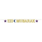 Eid Mubarak Letter Banners 3.65m - 6 PC