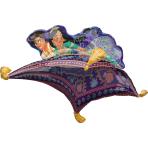 """Aladdin SuperShape Foil Balloons 42""""/106cm x 25""""/63cm P38 - 5 PC"""