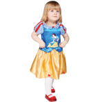 Snow White Princess Dress with Printed Character - Age 2-3 Years - 1 PC