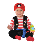 Baby Buccaneer Costume - Age 2-3 Years- 1 PC