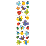 Spring Bugs Paper Stickers-12 PC
