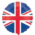 "Great Britain Flag Foil Balloons 18""/45cm S40 - 5 PC"