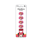 Minnie Mouse Gem Rings    - 6 PKG/4