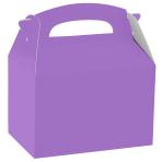 Purple Party Boxes - 75 PC