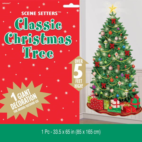 Classic christmas tree scene setters add ons 12 pc for Christmas classic art craft festival