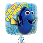 Finding Dory Happy Birthday Standard Balloons S60 - 5PC