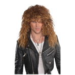 Glam Rock Wig - 3 PC