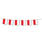 Poland Small Plastic Flag Bunting    - 3m 6 PKG