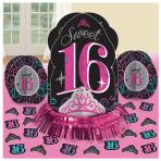 Sweet 16 Table Decorations Kits - 6 PKG/4