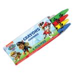 Paw Patrol Crayons - 6 PKG/12