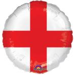 England Flag Foil Balloons S40 - 5 PC