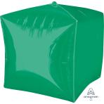 "Cubez Green Unpackaged Foil Balloons 15""/38cm G20 - 3 PC"