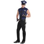 Under Arrest Costume - Size M - 1 PC