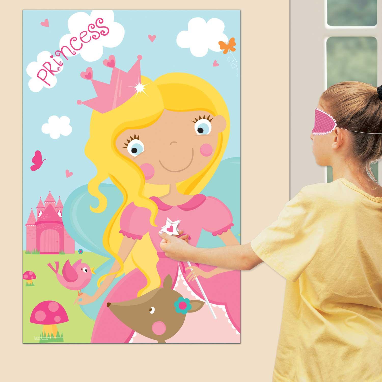 Toys For Tots Letter Head : Woodland princess party games pkg amscan international