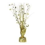 Gold Spray Centrepiece Balloon Weights 30cm/150g - 6 PC