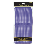 New Purple Plastic Knives - 12 PKG/12