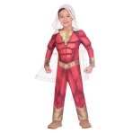 Shazam! Costume - Age 6-8 Years - 1 PC