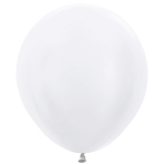 "Satin Solid Pearl 406 Latex Balloons 18""/45cm - 25 PC"