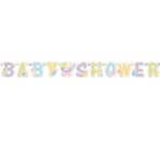 Baby's Nursery Illustrated Letter Banners 1.87m x 17.7cm - 6 PC