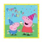 Peppa Pig Luncheon Napkins 33cm - 12 PKG/16