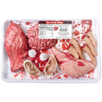 Meat Market Value Packs 34.2cm h x 21.5cm w x 5cm d - 3 PC