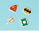 Justice League Erasers - 6 PKG/12