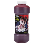 Red Fake Blood - Plastic Bottle 500ml - 4 PKG