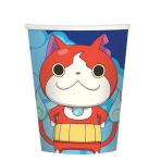 Yo-Kai Watch Paper Cups 266ml - 6 PKG/8