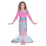 Barbie Rainbow Mermaid Dress - Age 3-5 Years - 1 PC