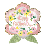 "Happy Mother's Day Satin Luxe SuperShape XL Foil Balloons 25""/63cm x 27""/68cm P35 - 5 PC"