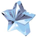 Light Blue Star Balloon Weights 150g/5oz - 12 PC