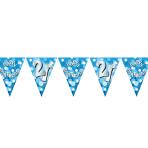 Happy 21st Birthday Flag Banner - 4m 10 PKG