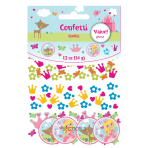 Woodland Princess 3 Pack Value Confetti 34g - 12 PC