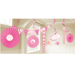 Communion Church Pink Decoration Kit - 6 PKG/18