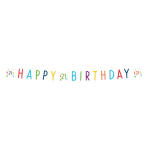 Confetti Birthday 21st Birthday Letter Banners 1.8m - 10 PC