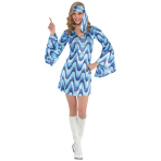 Disco Lady Costume - Size 10-12 - 1 PC