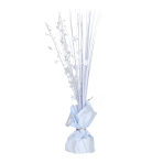 White Spray Centrepiece Balloon Weights 30cm - 6 PC