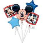 Mickey Roadster Foil Balloon Bouquets P75 - 3 PC
